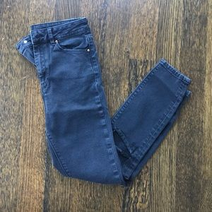 ASOS Black Ripped Skinny Jeans